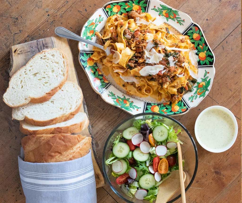 Image of pasta meal kit