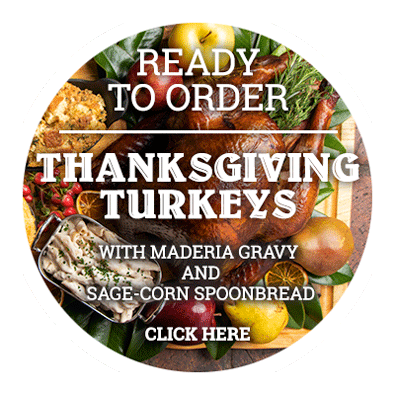 Thanksgiving turkeys are ready to order. Click here
