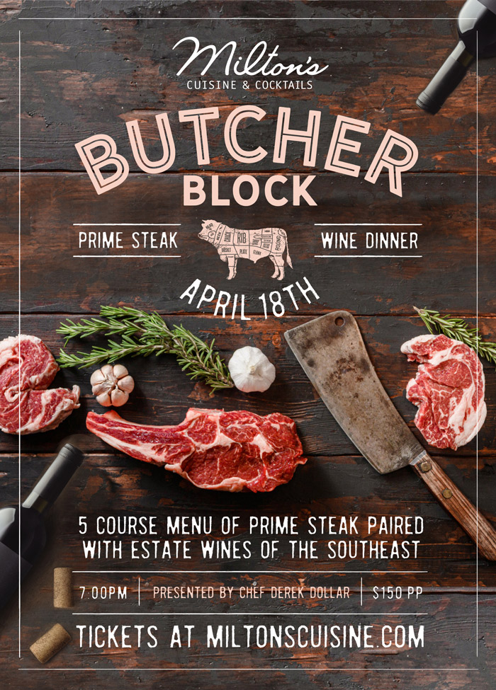Butcher Block Dinner